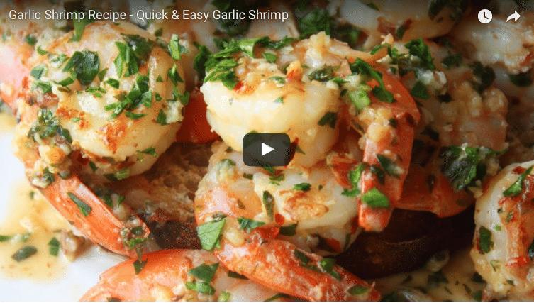 Today's recipe: Garlic Shrimp